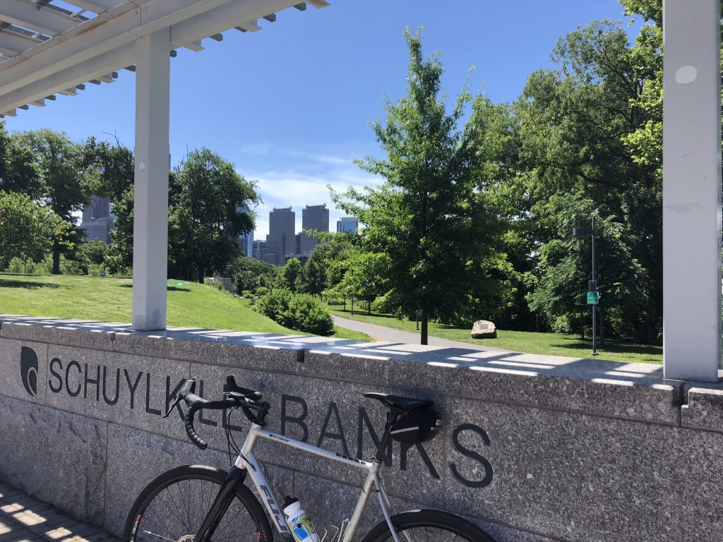 Schuylkill Banks by Art Museum