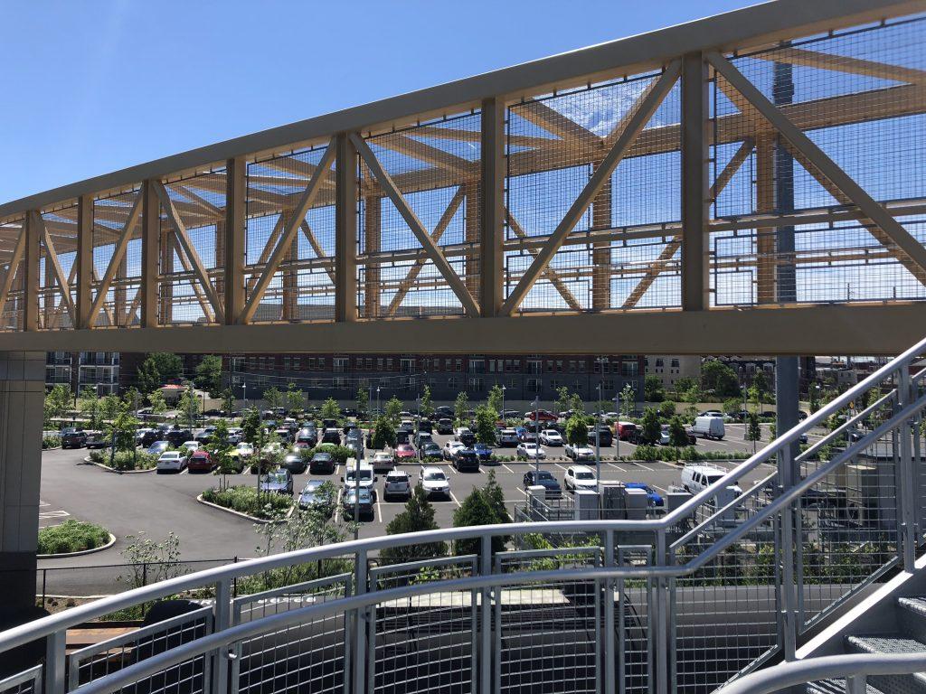 Pedestrian bridge at Childrens Hospital