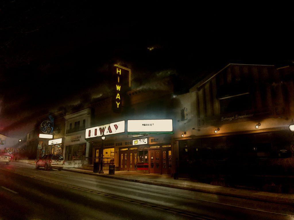 A night walk in Jenkintown