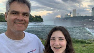 At Niagara Falls June 22