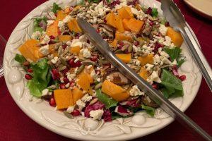 roasted squash salad