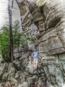 Trail near Mohonk Mountain Lodge