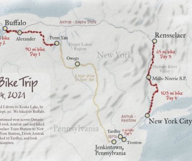 Map of my trip